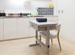 採血、処置室のイメージ